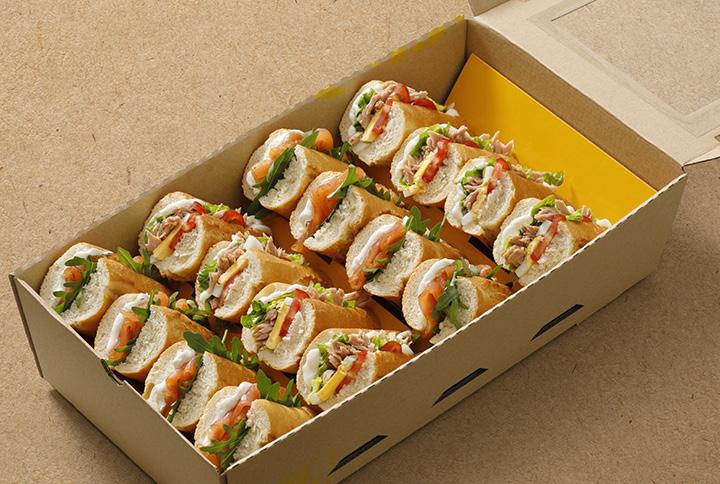 Fish box (2x tuna, 2x salmon)